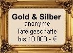 anonymes Tafelgeschäft online und in Gaienhofen am Bodensee, Gold, Silber, Platin, Palladium Barren und Münzen sowie Diamantem bar kaufen